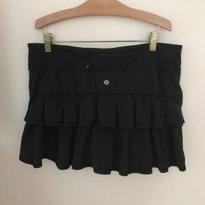 Lululemon ruffled skirt/skort